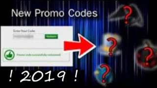 [NEW] 2019 Redeemable Promo Codes / (Check Desc.) Roblox