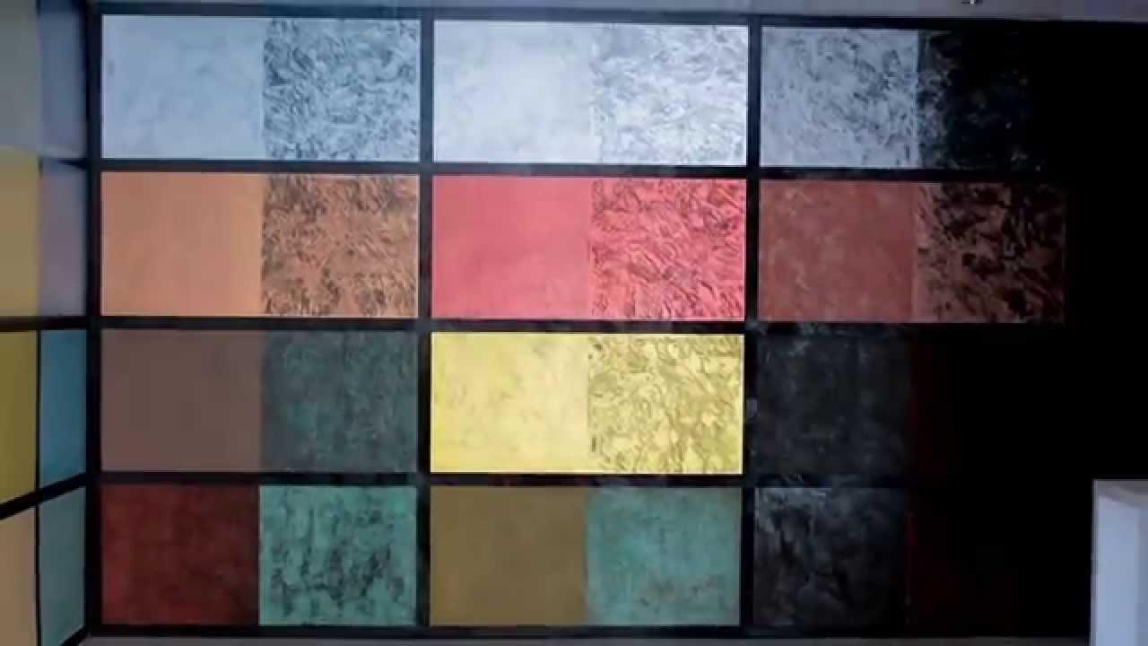 Arcocem metal nueva l nea de acabados metalizados para - Aplicacion de microcemento en paredes ...