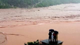 Flood Damage bridge kotli azad Kashmir
