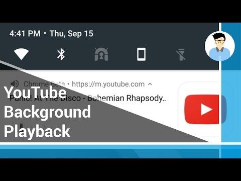 YouTube Background Playback -  Xposed Framework