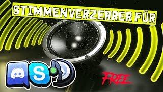 Stimmenverzerrer für Skype, Ts3, Discord 2.0