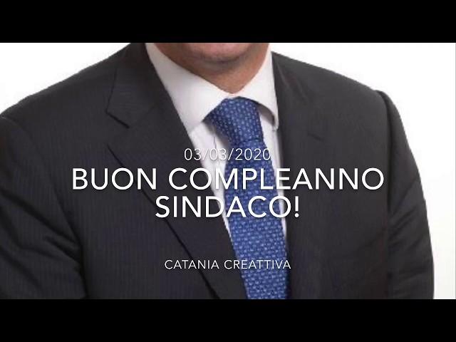 3 marzo 2020: compie oggi 48 anni il dott. Salvo Pogliese, Sindaco della città di Catania