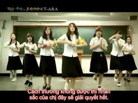 T-ara đi thi - nhại bài Roly Poly với sub Việt cực hài