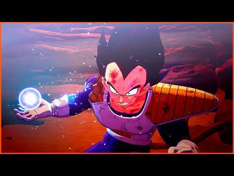 Vegeta Creates A Moon | Dragon Ball Z Kakarot Game | Goku vs Great Ape