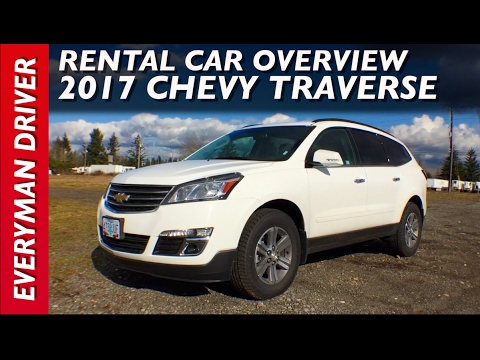 Here's the 2017 Chevrolet Traverse on Everyman Driver
