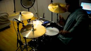 Beneath The Waters (I Will Rise) - Hillsong Live - Drum Cover