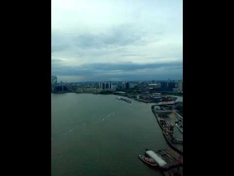Visiting London - Emirates Air Line (cable car)