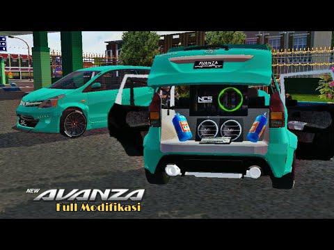 Mod Bussid Toyota Avanza Full Modifikasi Rocket Bunny Bus Simulator Indonesia Youtube