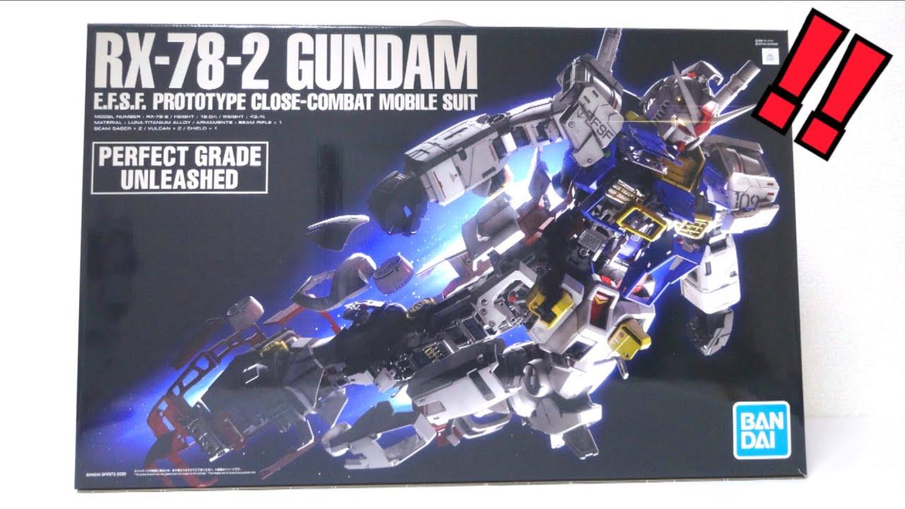2 ガンダム 60 pg unleashed 1 rx 78
