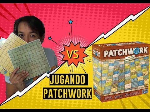 Jugando Patchwork / ME GANARON !!!
