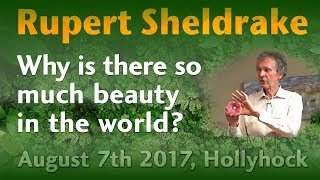 Rupert Sheldrake Why is there so much beauty in the world