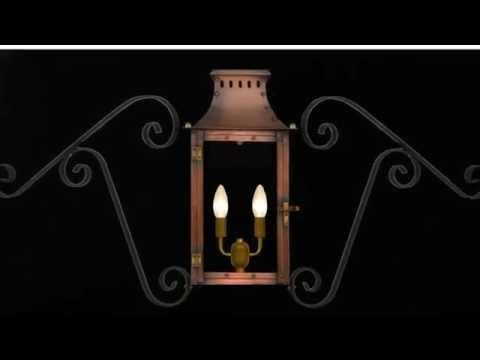 Indoor Lantern Light Fixture or Outdoor Lantern Light Fixture - YouTube