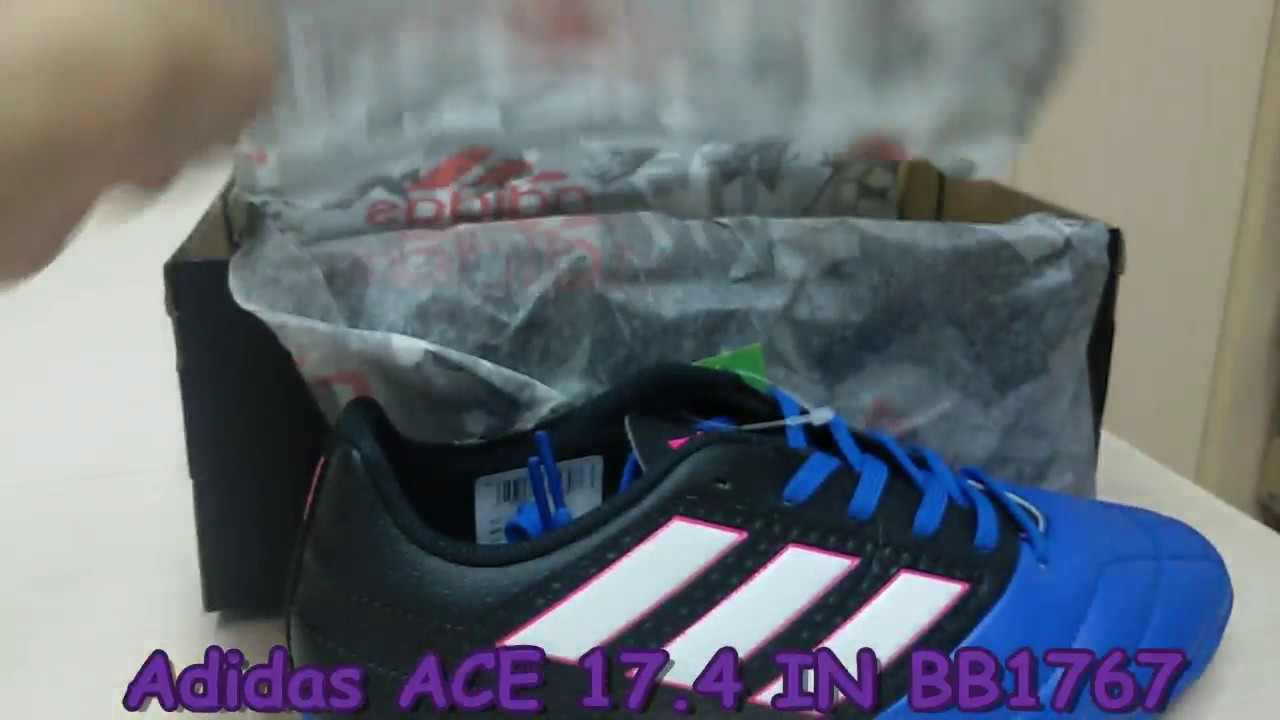 best sneakers 00218 15b03 Unboxing Review Adidas Futsal ACE 17 4 IN BB1767