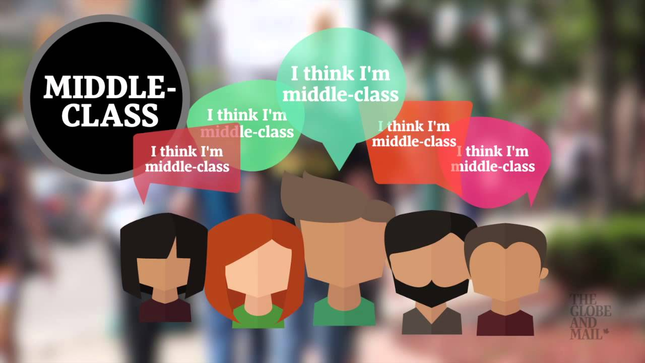 explained who is the middle class in canada youtube