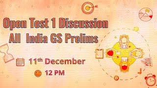 All India GS Prelims Open Test 01 Discussion
