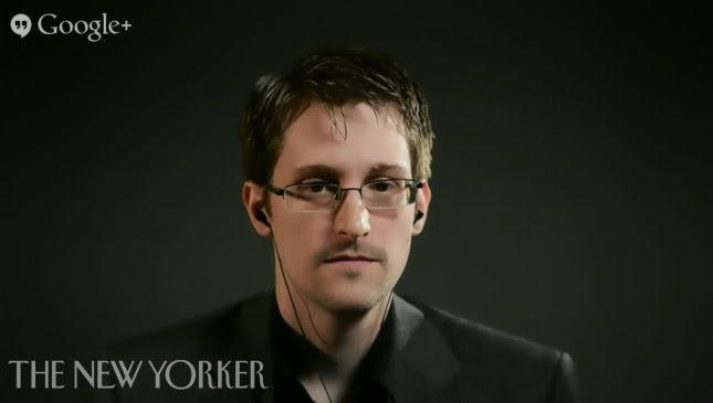 The Virtual Interview Edward Snowden The New Yorker Festival