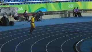【さすが金メダリスト】ボルト選手が槍投げをすると...(Usain Bolt)
