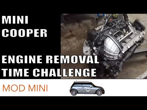 mini cooper engine removal time challenge r53 2002 2006 2005 mini cooper used parts evay 2005 mini cooper fuse box youtube #4
