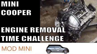 Mini Cooper Engine Removal Time Challenge - R53 2002-2006 Cooper S