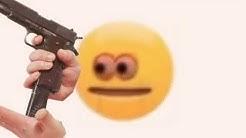 vibe check emoji gun meme
