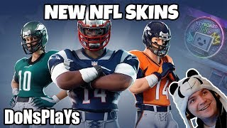 🔴 FORTNITE NEW NFL SKINS!! || 400 LIKE GOAL || 5K VBUCKS ! GIVEAWAY 🔴