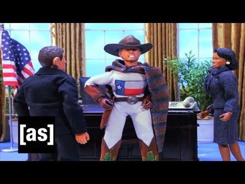 Captain Texas is Coming   Robot Chicken   Adult Swim