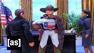 Captain Texas is Coming | Robot Chicken | Adult Swim