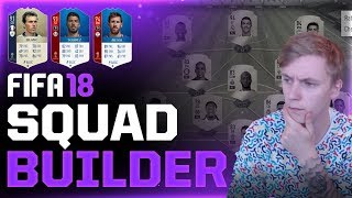WORLD CUP SQUAD-BUILDER! 191 RATED! FIFA 18 WORLD CUP MODE DANSK