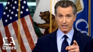 "California ""now moving backward, not forward"" on COVID, says Gov. Newsom"