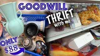 Filled My Cart for $88 at GOODWILL! | Thrift with Me for Ebay | Reselling
