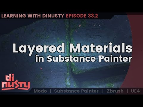Layered Materials in Substance Painter [EP33]