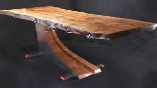 Cantilevered Dining Table