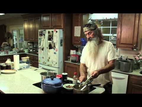 Duck Commander Phil Robertson Cooks His Famous Pralines