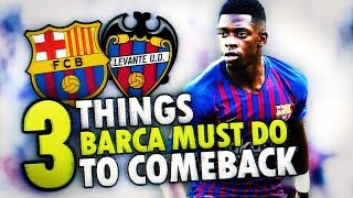 Messi SHOULDN'T PLAY and Here's why! Barcelona vs Levante *MATCH PREVIEW* - BugaL