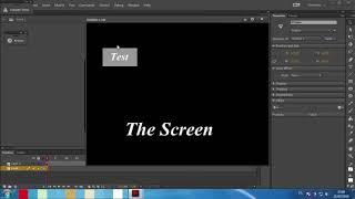 Flash CC  Action Script 3 Animation
