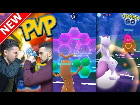 THE FIRST PVP BATTLE IN POKÉMON GO! Trainer Battles Update is LIVE! thumbnail