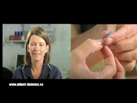 Mäta Blodsocker Xceed Blodsockermätare Abbott Diabetes.m4v