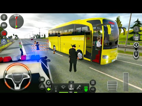 Ultimate Bus Simulator #4 - Route from LA to Houston - Android Bus Gameplay