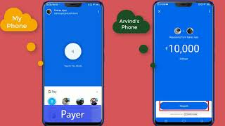 Google Pay - Request Money from your Friend | Pay money to your friend using Google Pay (Tez)