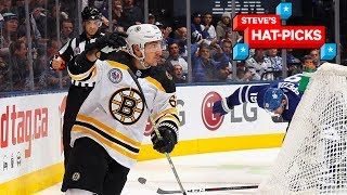 NHL Plays Of The Week: Brad Marchand...KING Of Toronto   Steve's Hat-Picks