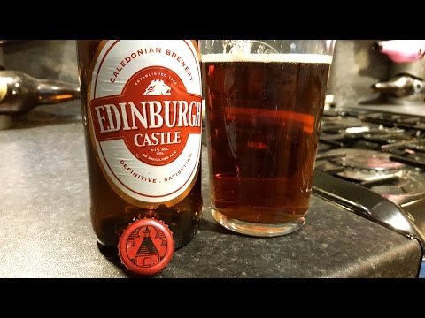 Caledonian Brewery Edinburgh Castle Ale | Beer Review