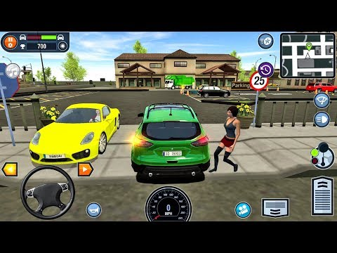 Car Driving School Simulator #23 - Car Games Android IOS gameplay