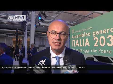 21/09/2019 | IL MINISTRO D'INCA': «AUTONOMIA SI' ...
