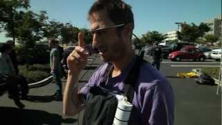 Google Glasses Skydiving Demo with Sergey Brin