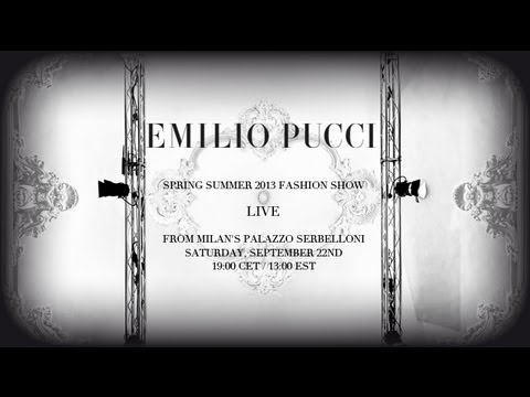 Emilio Pucci Spring/Summer 2013 Fashion Show
