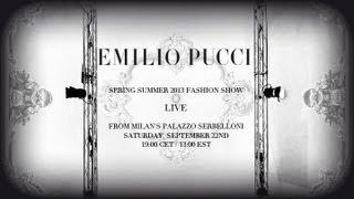 Emilio Pucci Spring/Summer 2013 Fashion Show
