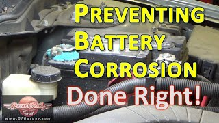 How to properly clean & protect your battery terminals from corrosion!