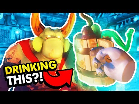 CRAFTING NASTY BREWS IN VIRTUAL REALITY (Dungeon Brewmaster VR Funny Gameplay HTC Vive)