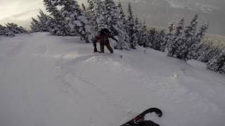 Snowboarding Whistler Blackcomb 5th February 2017