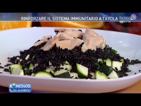 Rinforzare il sistema immunitario a tavola